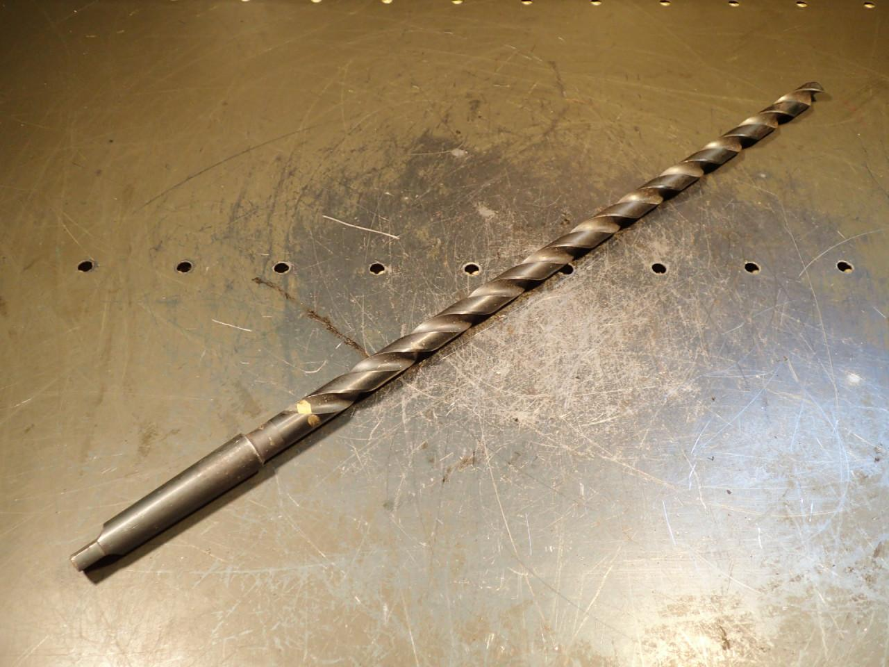 37//64 Extra Long Taper Shank Drill Bit MT-2 Flute 11