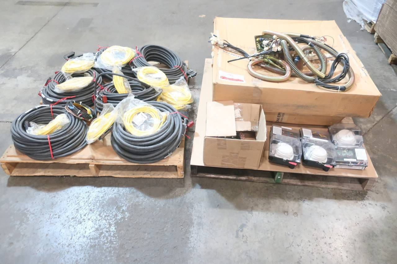 2 Pallets Of Assorted Electrical Wiring Harness Controls Main
