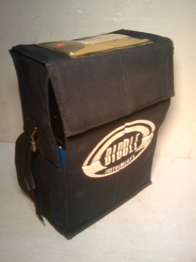 Biddle Instruments 437 Cable Logger With Faceplate Cover And Fabric Case