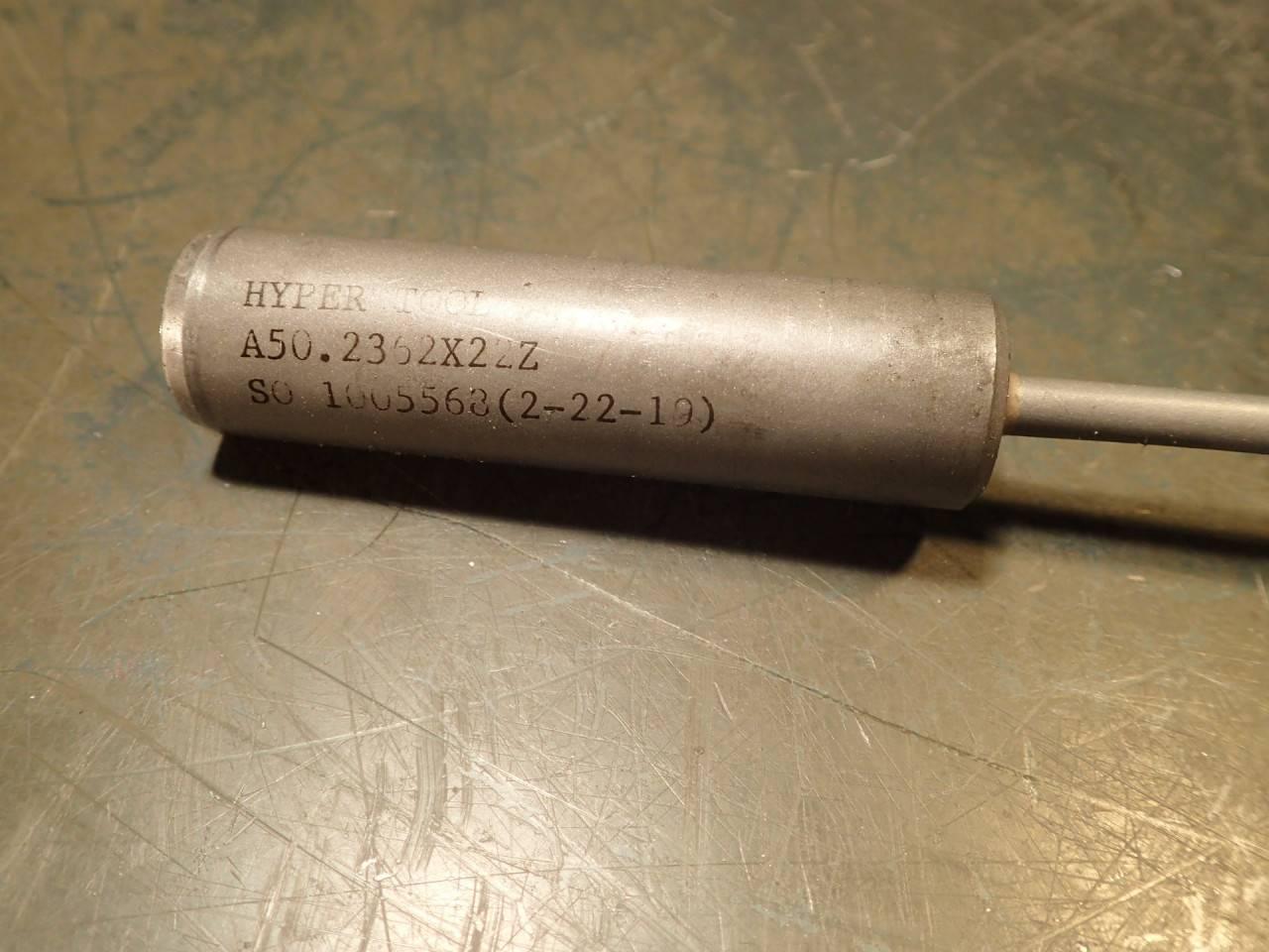 """Hyper Tool 1//2/"""" .500 x 28.75/"""" OAL Coolant Fed Deep Hole Gun Drill Carbide Tipped"""